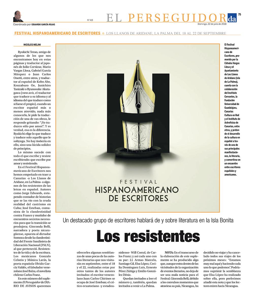 22/07/2018_El Perseguidor_Diario de Avisos