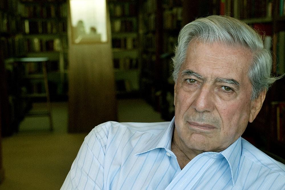 Mario Vargas Llosa - @ Lisbeth Salas