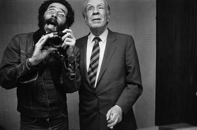 aJorge Luis Borges. Poeta argentino. Caracas, 1982 - © Vasco Szinetar