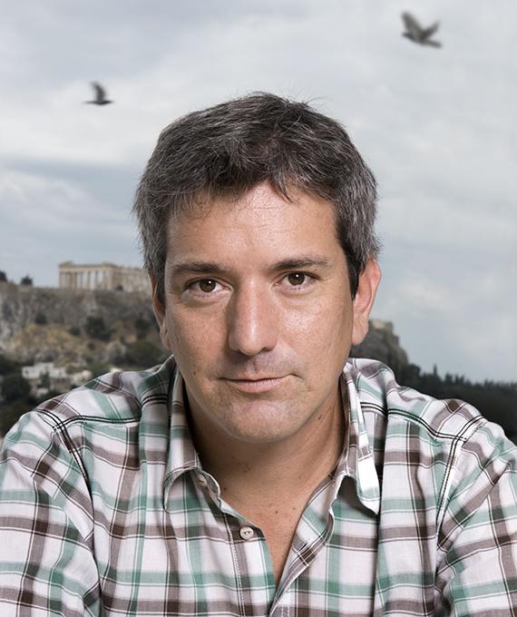 Santiago Roncagliolo - © Dimitris Yeros